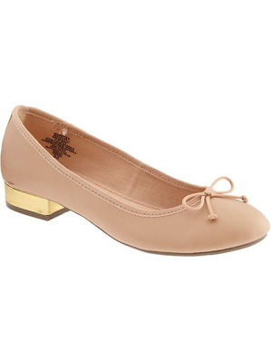 Women's Heeled Ballet Shoes