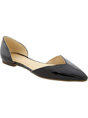 Women's Pointed D'Orsay Flats