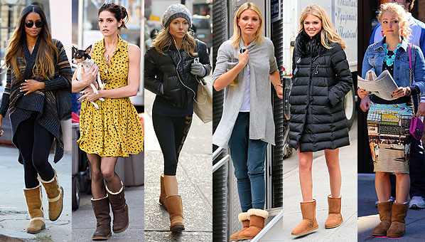 Celebrities Wearing UGG Boots | Celebrity UGG Boots - SHEfinds