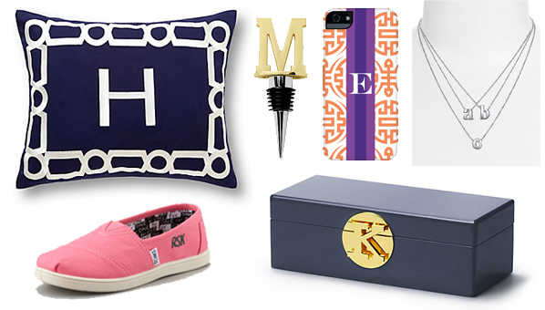The Most Awesome Monogrammed Gifts Of The Season