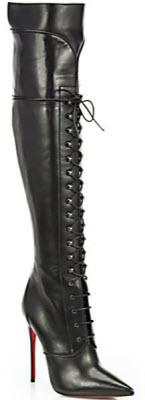 timeless design 986ea 8e784 Jennifer Hudson Boots | Christian Louboutin Mado Leather ...