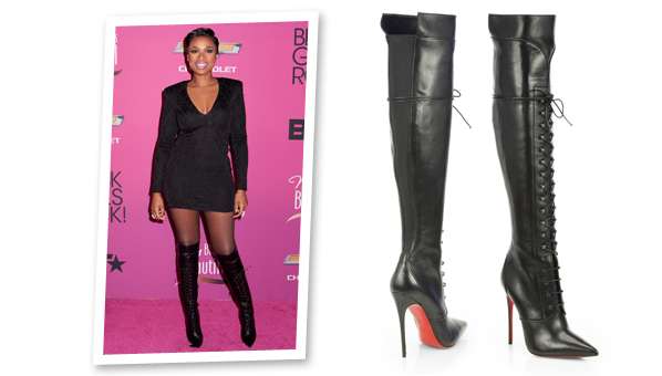 timeless design 6d5ad 90145 Jennifer Hudson Boots | Christian Louboutin Mado Leather ...