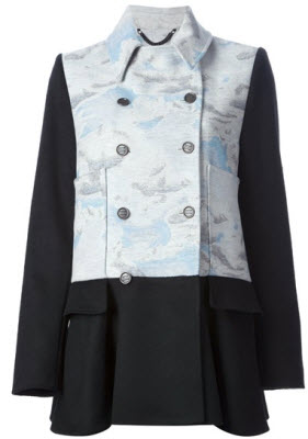 Kenzo day clouds peacoat