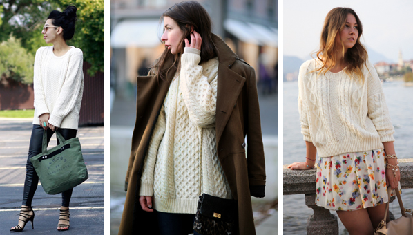Best Fisherman Sweaters | Cable Knit Sweaters | Cream Colored Sweaters