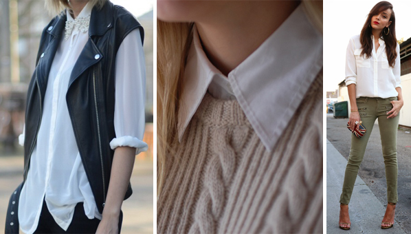 Shop White Button Down Shirts | How To Wear White Button Down ...
