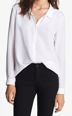958adc4a9c6e5 The Kooples Button Front Silk Shirt - SHEfinds