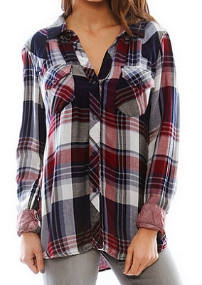 rails kendra button down top