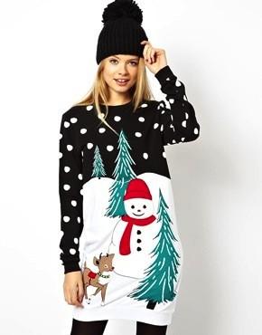 Asos holidays sweater dress 171 shefinds