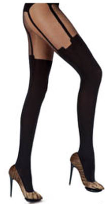 Pretty Pollu House of Holland Suspender Tights