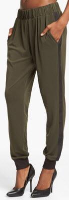 Wayf Crepe Track Pants2