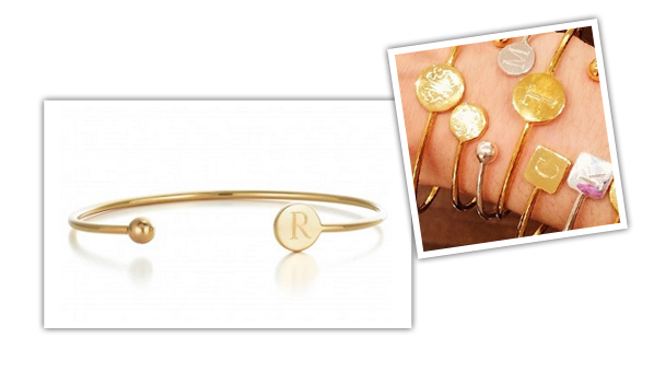 All I Want For Christmas Is One Of These Sarah Chloe Monogrammed Bangles