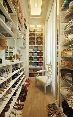 Pinterest Worthy Closet Tips: Add a Chair