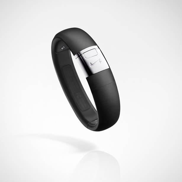 Nike Silver FuelBand Close Up