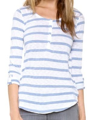 Splendid Canyon Stripe Top