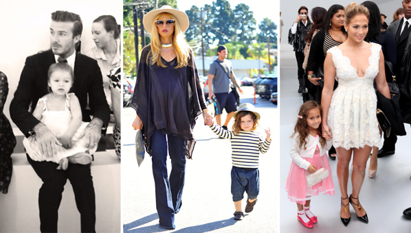 Best-dressed celebrity kids - MSN