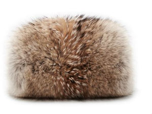 Fur Muff Tory Burch Fall 2014