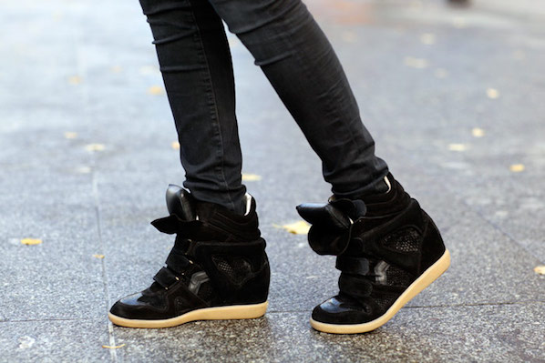 isabel marant sneaker wedges isabel marant shoe trends. Black Bedroom Furniture Sets. Home Design Ideas