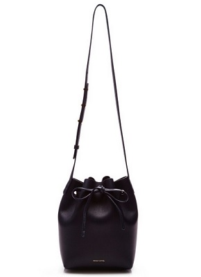 3138c91d7ecf Kirsten Dunst is one of the lucky celebs who got her hands on a Mansur  Gavriel bucket bag.
