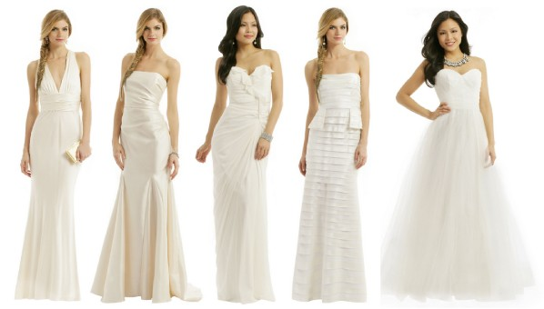 Rent the runway bridal cheap designer wedding dress for Rent for wedding dress