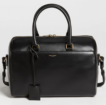 Saint Laurent Duffle 6 Leather Satchel