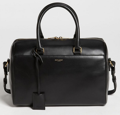 Reese Witherspoon Never Leaves Homes Without Her Saint Laurent Duffle 6 Leather Satchel