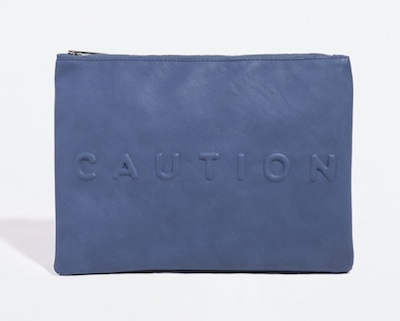 Zara Caution Clutch