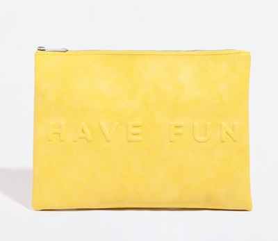 Zara Have Fun Clutch