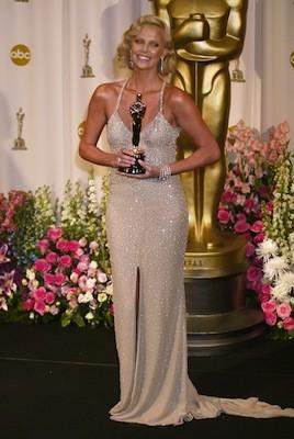 Charlize Theron Oscars 2004