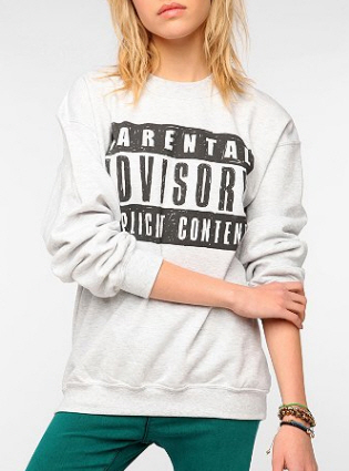 urban outfitters parental advisory