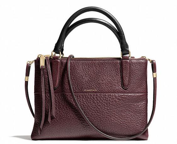 Coach Mini Borough Bag in Pebbled Leather