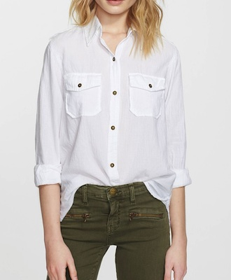 Current Elliot Perfect Cotton Shirt