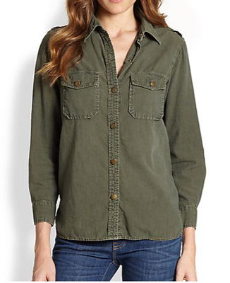 Current/Elliott Perfect Cotton Shirt