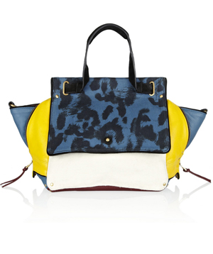 760c076dd6a Jérôme Dreyfuss Johan Leather And Leopard-Print Canvas Shoulder Bag ($1,100)