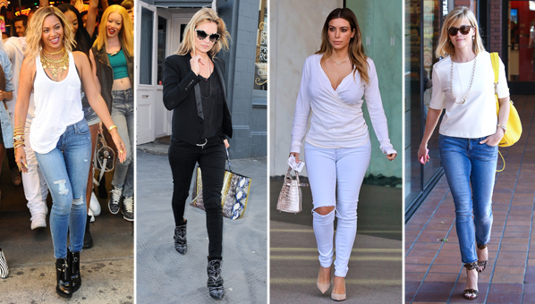 Celebrities Have A Special Relationship With Their Jeans They Each Have A Go To Brand That They Would Never Abandon Thats Why You Always See Jennifer