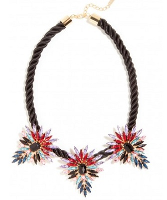 mohawk collar necklace