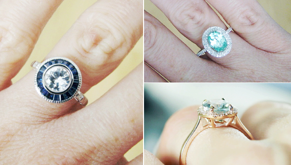 14 Totally Unique Engagement Rings That Will Make Your Girlfriends Soooo Jealous