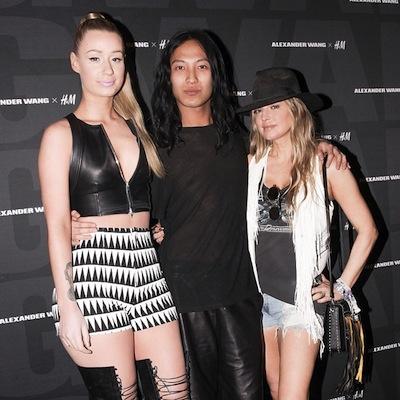 Iggy Azalea, Fergie and Alexander Wang