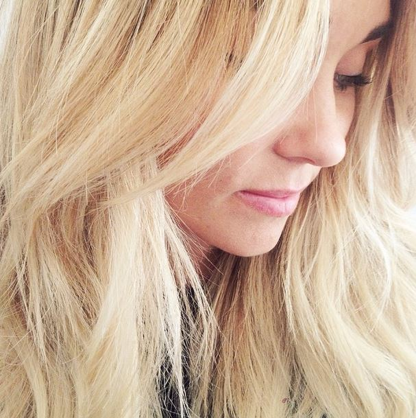Lauren Conrad April Fools Hair Joke