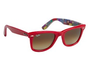 Ray Ban Red Acrylic Original Wayfarers