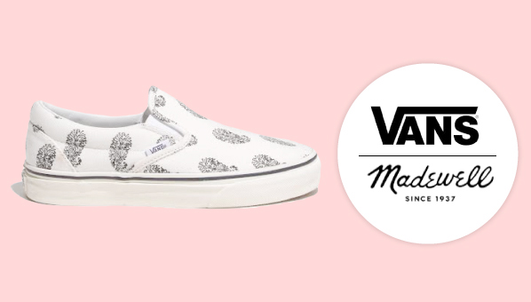 e5965b5423 What do you get when you mix Madewell with Vans  An awesome shoes inspired  by the surf and skate culture of Southern California and one of our  favorite ...