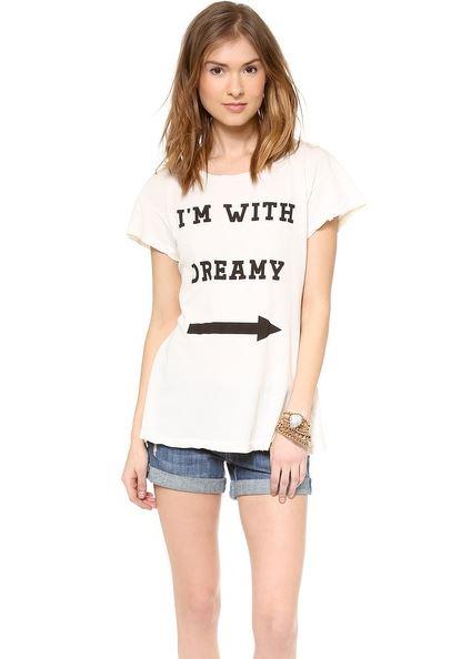 Wildfox Im With Dreamy T Shirt