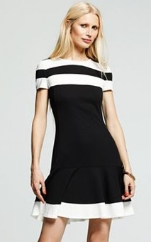 peter som designation colorblock dress