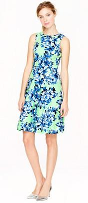 jcrew photo floral dress