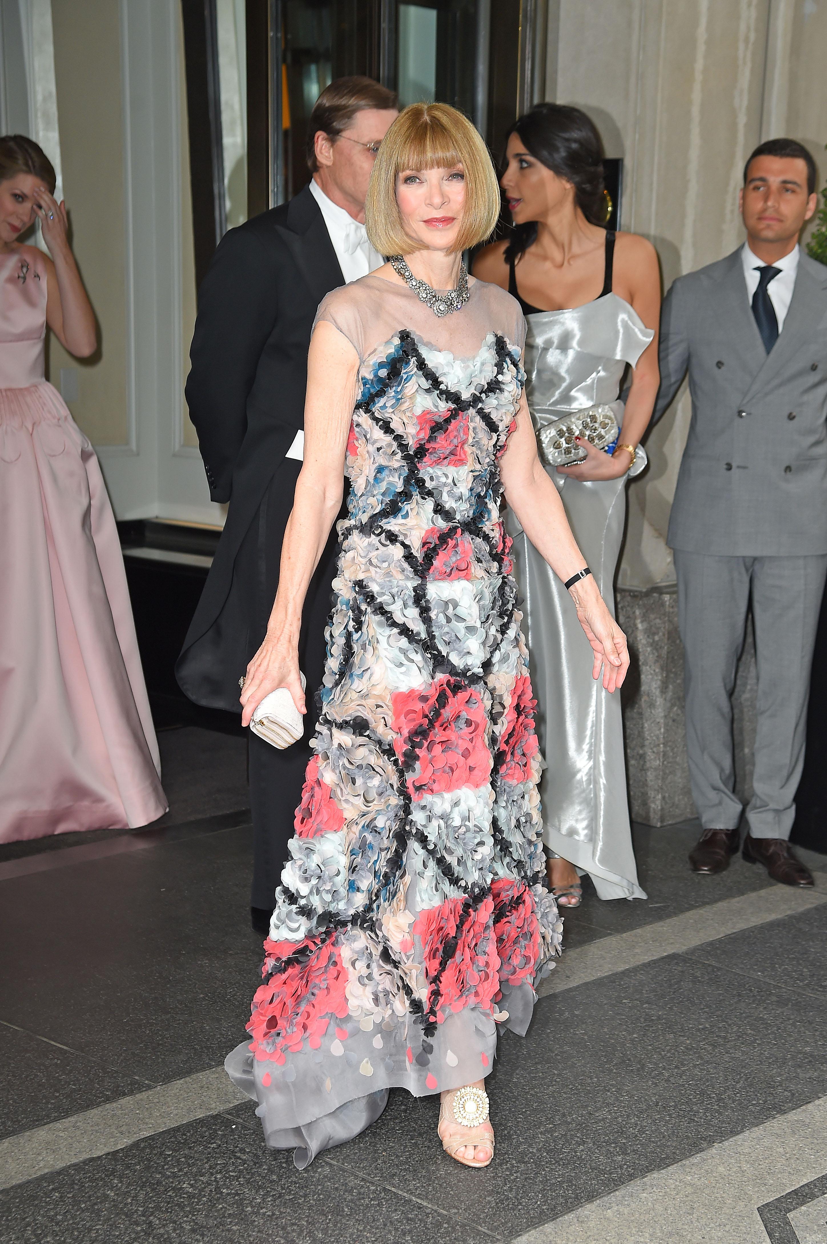Anna Wintour Met Gala 2014