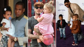 12 Celebrity Dads Looking Totally Adorable With Their Kids