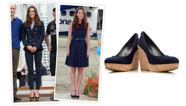 df0bef8711a Ever since Kate Middleton first wore her Stuart Weitzman Corkswoon Wedges  ( 398) at the 2012 Olympics