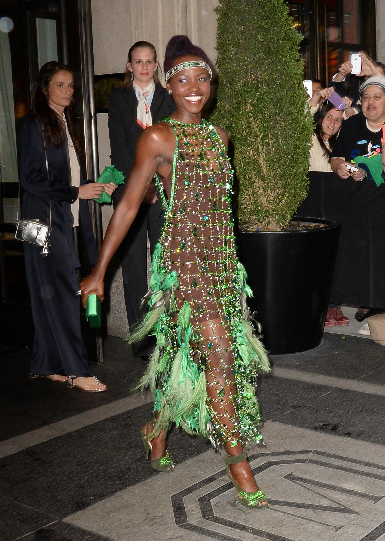 Lupita Nyong'o Met Gala 2014