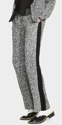 sandro tweed pants