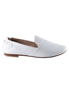 yosi samra white smoking slipper