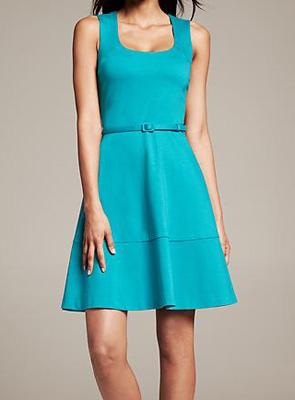 5eae7444377fd 4.collective Square Neck Dress ($285)